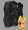 Форма пластикова для садової доріжки (Комплект 4 шт.) 60*60*6 + пластифікатор в подарунок