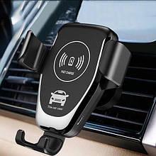 Автотримач TOTU Wireless Charger Car Mount