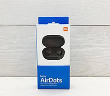 Навушники Xiaomi Redmi AirDots Black (Репліка Люкс)