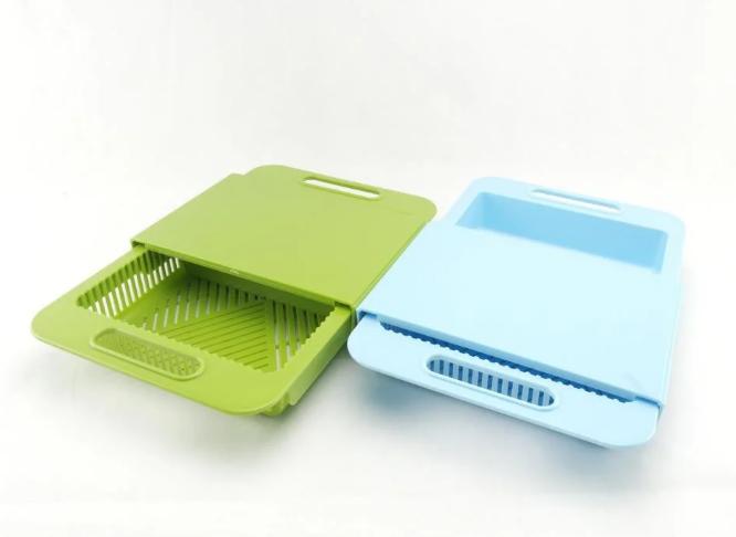 Обробна дошка на мийку, пластикова, для нарізання овочів