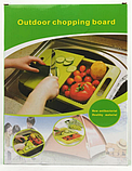 Разделочная доска на мойку, пластиковая, для нарезки овощей, фото 6