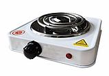 Переносная настольная электроплита Domotec MS 5801 спираль, кухонная бытовая плита, фото 3