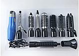 Фен-стайлер для волос 10 в 1 Gemei GM-4833, фото 5
