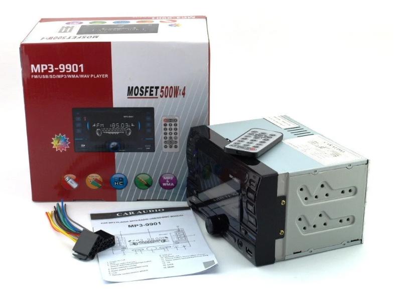 9901 car MP3 player 200W 4x50W , 2 DIN автомагнитола