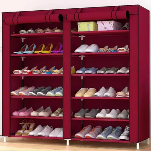 Органайзер для зберігання речей | Складні шафи з тканини | Тканинний шафа для взуття T-2712