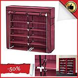 Органайзер для зберігання речей | Складні шафи з тканини | Тканинний шафа для взуття T-2712, фото 2