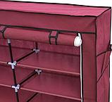 Органайзер для зберігання речей | Складні шафи з тканини | Тканинний шафа для взуття T-2712, фото 4