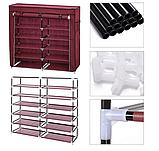 Органайзер для зберігання речей | Складні шафи з тканини | Тканинний шафа для взуття T-2712, фото 7