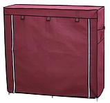 Органайзер для зберігання речей | Складні шафи з тканини | Тканинний шафа для взуття T-2712, фото 8