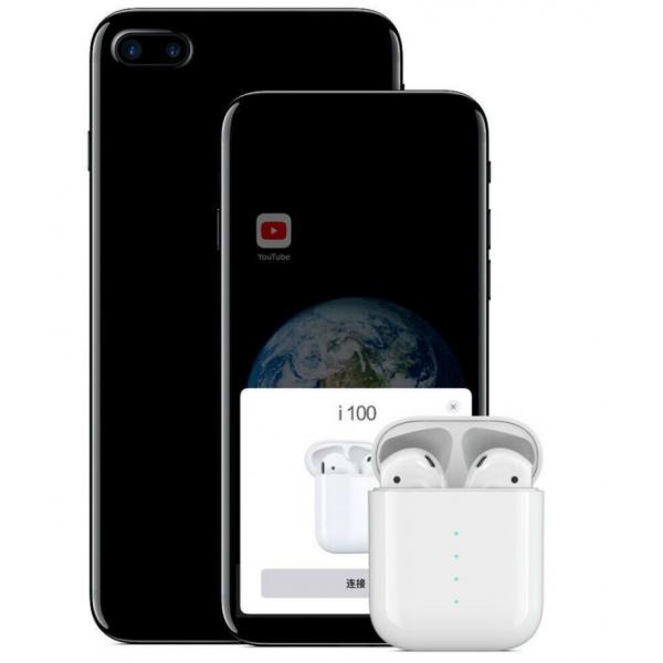 Навушники Безпровідні i100 TWS Bluetooth для Iphone і Android