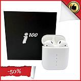 Навушники Безпровідні i100 TWS Bluetooth для Iphone і Android, фото 2
