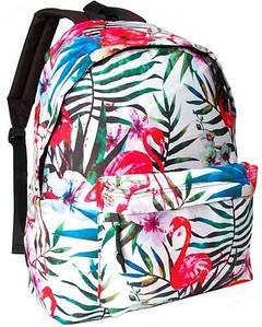 Різнобарвний жіночий рюкзак з фламінго 20L Corvet, BP2153-FL