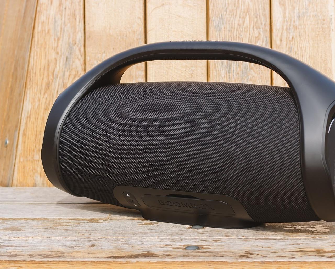 Переносная колонка портативная акустика Boombox 40 Вт для телефона ноутбука и пк, Колонка портативная блютуз