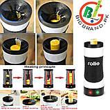 Вертикальна омлетница Rollie - Easy Egg Cooker master FZ-C1, прилад для приготування яєць, яєчня на паличці, фото 7