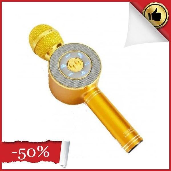 Беспроводные микрофоны для караоке Wster WS-668, Портативный микрофон, USB-микрофон