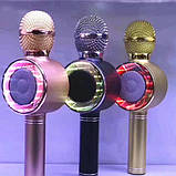 Беспроводные микрофоны для караоке Wster WS-668, Портативный микрофон, USB-микрофон, фото 4