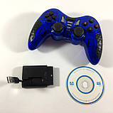 Игровая приставка джойстик для PS3/PS2/PS1/PC/360/TV (геймпад беспроводной) 6 в 1, фото 7
