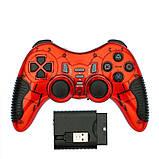 Игровая приставка джойстик для PS3/PS2/PS1/PC/360/TV (геймпад беспроводной) 6 в 1, фото 9