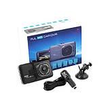 Видеорегистратор автомобильный car dvr full hd 1080p 626-2 металл, регистратор камера видеонаблюдения Full HD, фото 2