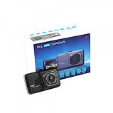 Видеорегистратор автомобильный car dvr full hd 1080p 626-2 металл, регистратор камера видеонаблюдения Full HD, фото 9