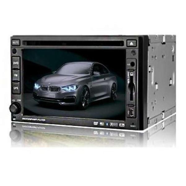 Bluetooth автомагнитола 2DIN Lux 261 HD с сенсорным экраном, тюнером, USB, FM, AUX и cd-проигрывателем