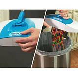 Механічна щітка диво віник для прибирання підлоги Hurricane Spin Broom (пилосос, швабра), Віники, щітки для, фото 6