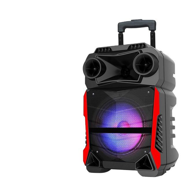 Акумуляторна портативна колонка валізу Ailiang LiGE-Q81F, бездротова Bluetooth акустика