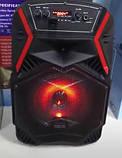 """Акумуляторна колонка валізу Ailiang LiGE-B84, бездротова 8"""" акустика, USB, FM, Baterry, пульт, фото 3"""