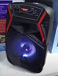 """Акумуляторна колонка валізу Ailiang LiGE-B84, бездротова 8"""" акустика, USB, FM, Baterry, пульт, фото 5"""