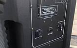 Бездротова колонка валізу Ailiang U1318SK, 12 дюймова акустика, комбопідсилювач + пульт і 2 мікрофона, фото 4