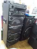 Беспроводная колонка чемодан для дискотеки Ailiang DJ-1035 с Диджей Микшером, пультом и 2 микрофонами, фото 5