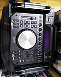 Беспроводная колонка чемодан для дискотеки Ailiang DJ-1035 с Диджей Микшером, пультом и 2 микрофонами, фото 7