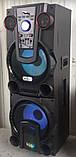 Бездротова колонка валізу для дискотеки Ailiang UF-1044 комбо з мікрофоном і подвійним 12 дюймовим динаміком, фото 4