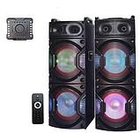 Комплект акустичних систем для дискотеки Ailiang UF-6623 комбо + пульт ДУ, USB, FM, Bluetooth, Діджей Мікшер, фото 3