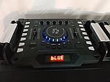 Комплект акустичних систем для дискотеки Ailiang UF-6623 комбо + пульт ДУ, USB, FM, Bluetooth, Діджей Мікшер, фото 4