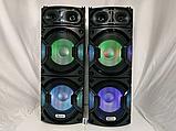 Комплект акустических систем для дискотеки Ailiang UF-6623 комбо + пульт ДУ, USB, FM, Bluetooth, Диджей Микшер, фото 7