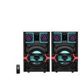 Комплект акустичних систем для дискотеки Ailiang UF-7331 комбо + пульт ДУ, USB, FM, Bluetooth, Діджей Мікшер, фото 3