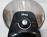 Электрическая блинница настольная DSP KC-3006, лавашница, аппарат для приготовления пиццы, фото 6