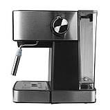 Электрическая кофеварка рожковая, кофемашина DSP Espresso Coffee Maker KA3028 с капучинатором, полуавтомат, фото 3