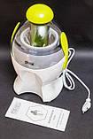 Мини электрическая соковыжималка для томатов, цитрусовых, овощей и фруктов DSP KJ3042, бытовая техника в кухню, фото 7