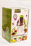 Мини электрическая соковыжималка для томатов, цитрусовых, овощей и фруктов DSP KJ3042, бытовая техника в кухню, фото 9