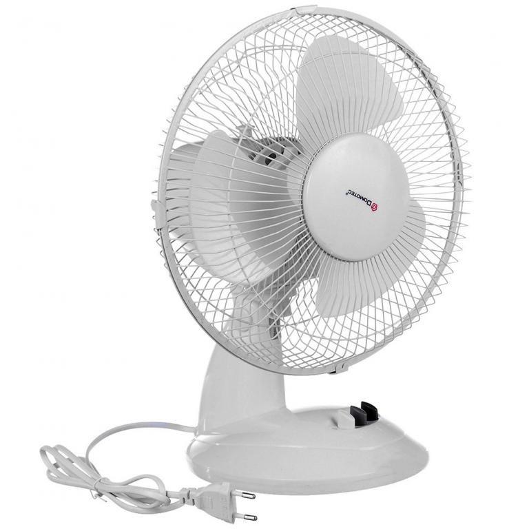 Вентилятор электрический бытовой настольный Domotec MS-1626 /16 для дома и офиса, 3 скорости