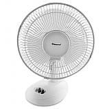 Вентилятор електричний побутової настільний Domotec MS-1626 /16 для дому та офісу, 3 швидкості, фото 4