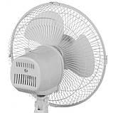 Вентилятор електричний побутової настільний Domotec MS-1626 /16 для дому та офісу, 3 швидкості, фото 5