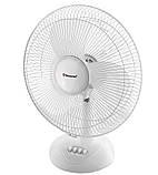 Вентилятор электрический бытовой настольный Domotec MS-1626 /16 для дома и офиса, 3 скорости, фото 7
