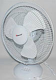 Вентилятор электрический бытовой настольный Domotec MS-1626 /16 для дома и офиса, 3 скорости, фото 8