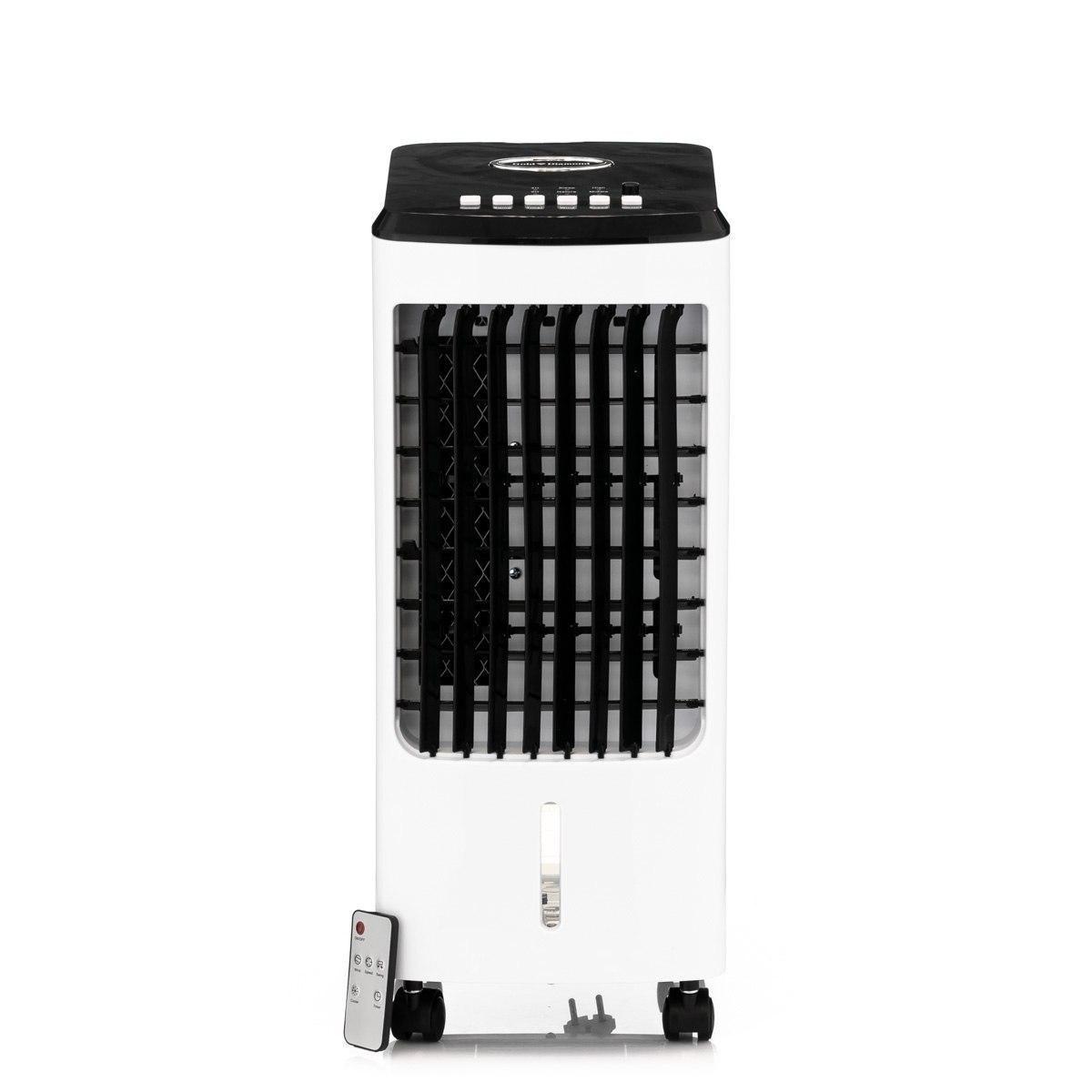 Портативний водяний охолоджувач повітря випарного типу Gold Diamond з пультом ДУ, мобільні кондиціонери