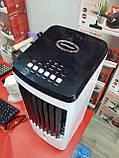 Портативний водяний охолоджувач повітря випарного типу Gold Diamond з пультом ДУ, мобільні кондиціонери, фото 6