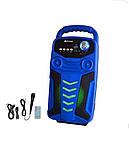 Акумуляторна бездротова колонка валізу Ailiang LiGE-3610-DT, портативна Bluetooth акустика, сабвуфер, фото 6