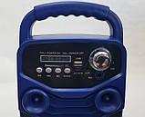 Акумуляторна бездротова колонка валізу Ailiang LiGE-3610-DT, портативна Bluetooth акустика, сабвуфер, фото 8